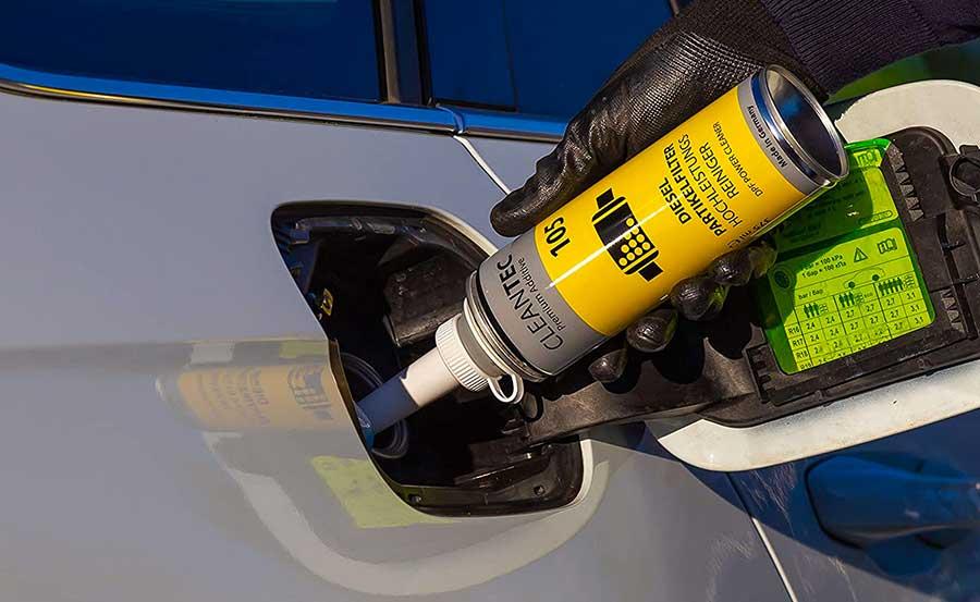 Applicazione del trattamento motore diesel